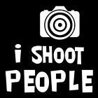 I SHOOT PEOPLE (photographer camera yi action stabilizer hd 3g recorder) T-SHIRT