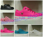 New Fashion Casual Women's Leather Lace Up Sneakers Trainer Shoes Flats