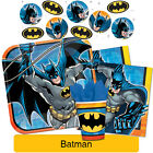 BATMAN - Birthday PARTY RANGE (Tableware, Balloons & Decorations) DC Comics (A)