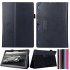 Folio Leather Stand Case Protective Cover Shell For Lenovo Tab2 A10-70F 10.1inch