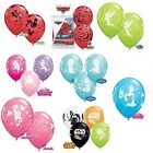 "6 x 30cm (12"") Disney/Marvel/StarWars Licensed Character Qualatex Latex Balloons"