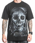 Sullen Clothing Potter Mens T Shirt Tee Black Skull Tattoo Goth
