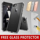 For New APPLE iPhone 7 Case Transparent Crystal Clear Case Gel TPU Cover Skin