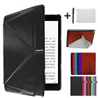 Folio Leather Stand Cover Smart Case For Amazon Fire HD 8 +Touch Pen+HD Film LOT