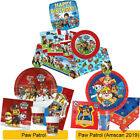 PAW PATROL Birthday Party Range Tableware Supplies Balloons Banners Decorations
