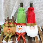 Christmas Santa Claus Wine Bottle Wrap Cover Pouch Bag Gift Party Decoration LD