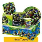 Ninja Turtles BALLOONS & BANNERS Birthday Party Range (Tableware & Decorations)