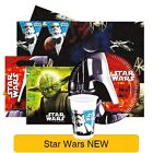 Star Wars GENERAL Birthday Party Range - Tableware Balloons & Decorations