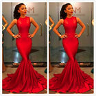 Women Ladies Evening Party Cocktail Wedding Formal Prom Gown Long Maxi Dress New