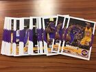 2016-17 NBA Hoops Kobe Bryant Tribute Inserts Complete Your Set PICK from List