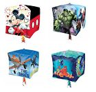 Kids Character CUBEZ BALLOONS Birthday Party Range (Tableware & Decorations)