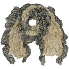 RUFFLED EDGE LONG SCARF