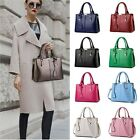 Women Girl Leather Handbag Shoulder Cross Body Tote Messenger Satchel Purse Bag