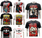 ASIA SIZE Rock Band T-shirt Avenged sevenfold A7X Retro Cotton Tee Unisex RABB
