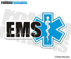 EMS Decal Paramedic EMT Star Life First Responder Firefighter Window Sticker LM4