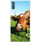 Cow Snap-on Hard Back Case Phone Cover for Sony Xperia XZ