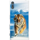 Wild Tiger Snap-on Hard Back Case Phone Cover for Sony Xperia XZ