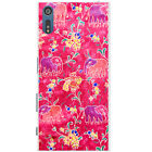 Indian Elephants Snap-on Hard Back Case Phone Cover for Sony Xperia XZ