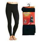 Ladies Thermal Leggings Full Length Stretchy Warm Winter Ski Wear