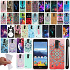 For LG K8V VS500 Cute Design TPU SILICONE Soft Skin Case Phone Cover + Pen