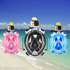 S-XL Full Face Snorkeling Mask Anti-fog Snorkel Diving Sport Goggles for Gopro