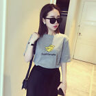 New Women Short-sleeved Loose Cotton Trend T-shirt Blouse Tops One Size Fashion