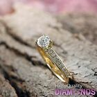 Diamond Engagement Ring 14k Solid Gold 1.16 CT SI F-G Size 7 Enhanced XMAS Gift