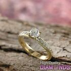 Diamond Engagement Ring 14k Solid Gold 1.16 CT VS D-F Size 8 Enhanced XMAS Gift