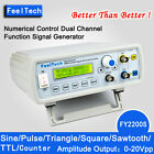 FeelTech 6-24MHz CNC Dual-Ch DDS Function Signal Generator Sweep Frequency Meter