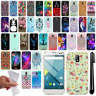 For BLU Studio G Cute Design TPU SILICONE Soft Skin Case Phone Cover + Pen