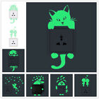 Luminous Cute home Switch Wall Stickers Night light bedroom Fluorescent Stickers