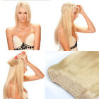 100% Human Remy Hair Invisible Wire Hair Extensions Crown Apply Full Head Band