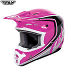 Fly Racing 2017 Full Speed MX Motocross Enduro Off Road Helmet Childrens Pink