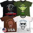 Star Wars T-Shirt Rogue One Episode I II III IV V VI VII Kids Jedi Kylo Ren Cute $10.75 USD