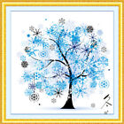 Hot Sale DIY Embroidery Kit Season Tree Home Decor Counted Cross Stitch Crafts