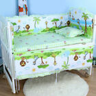 baby cots adelaide - New Crib Nursery Bedding Sets Cartoon Baby Cot Bumpers Mattress Pillow Backrest
