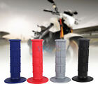 """Universal Motorcycle Motocross 22mm 7/8"""" Silicone Throttle Hand Handle Grips DH"""