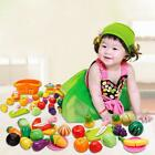 1Set Cutting Fruit Vegetable Pretend Play Kid Children Educational Toy Gift - LD