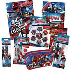 CAPTAIN AMERICA Civil War - Stationery/Sticker Books/Gift/Pad/Activity (Marvel)