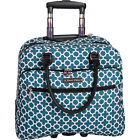 """Jenni Chan Aria Broadway 18"""" Wheeled Tote 3 Colors Luggage Totes and Satchel NEW"""