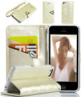 Fashion PU Leather Magnetic Flip Wallet Stand Case Cover for iPhone 5C New