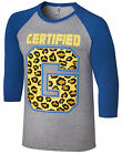 WWE ENZO AMORE & BIG CASS Certified G OFFICIAL RAGLAN T-SHIRT