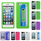 For Apple iPhone 5/5S/SE Silicone Skin Rubber Soft Case Phone Cover