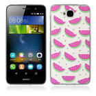 Patterned Soft TPU Rubber Back Silicone Skin Phone Case Cover for Huawei Lenovo