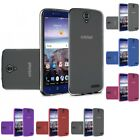 For ZTE Grand X 4 Damon X4 TPU Rubber Flexible Phone Skin Case Cover