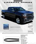 Silverado Chevy Truck Hood Decals 2016-2018 LATERAL HOOD SPIKES Stripes 3M Pro