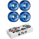 BONES Skateboard Wheels SPF CLEARS Blue with INDEPENDENT ABEC 5 Bearings