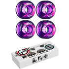 BONES Skateboard Wheels SPF CLEARS Purple with INDEPENDENT ABEC 5 Bearings