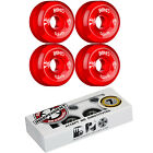 BONES Skateboard Wheels SPF CLEARS Red with INDEPENDENT ABEC 7 Bearings