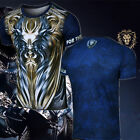 World of Warcraft Alliance king of leon short-sleeved round neck casual T-shirt